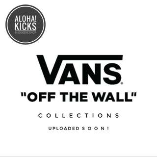 UPCOMING! Vans Collections