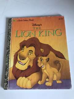 The Lion King - Little Golden Book