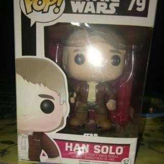 Funko Starwars Han Solo