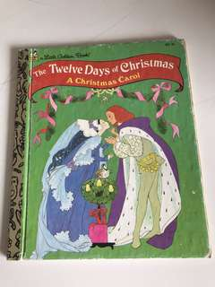 The Twelve Days Of Christmas - A Christmas Carol - Little Golden Book