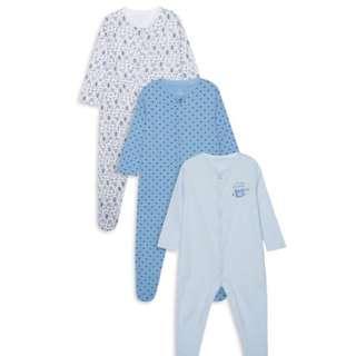 PRIMARK BABY BOY LONG SLEEVE BODYSUIT