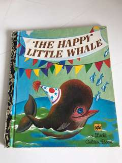 The Happy Little Whale - Little Golden Book