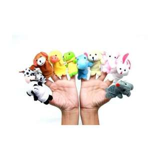 Cloth Animal Finger Puppet