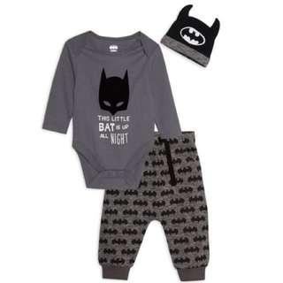 BABY PRIMARK BATMAN SET