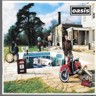 MY CD - OASIS - BE HERE NOW //FREE DELIVERY BY SINGPOST(W6D)