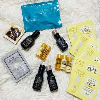 Skinfood & Innisfree Korean Skincare Beauty Bundle