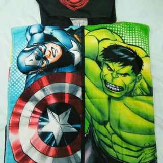 Avengers Kids Hooded Towel