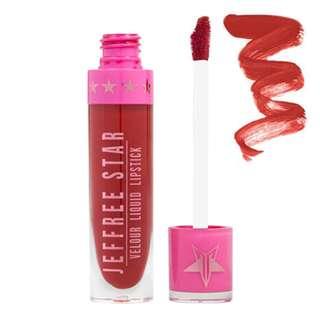 [Auth with Invoice] Jeffree Star Cosmetics Velour Liquid Lipstick Redrum