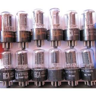 USA RCA 6SN7 VT231 5692 6N8P 6H8C Vacuum Tubes