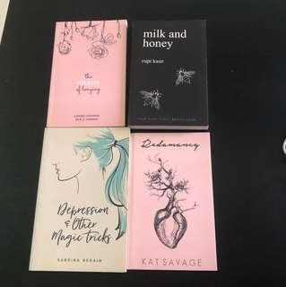 poetry books!!