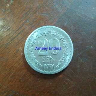 Genting Highland token 1974