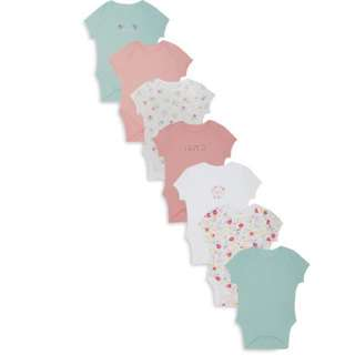 PRIMARK 7 PIECES BABY GIRL BODYSUIT/ROMPER