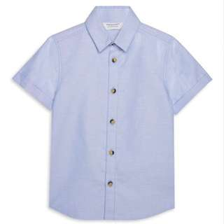 PRIMARK BABY BOY BLUE SHIRT