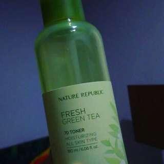 Nature Republic Fresh Green Tea 70 Toner