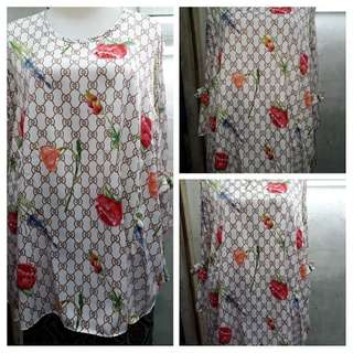Blouse silk