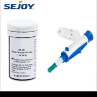 Medical Diabetic Blood Glucose Test Strips