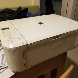 Canon Wi-Fi printer 影印機 可以印相 已經冇墨水