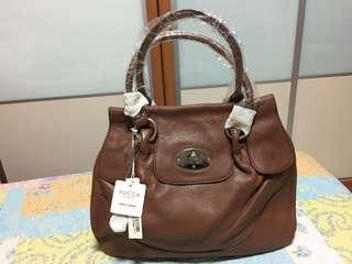 Authentic Genuine Full Leather YUCCA Ladies Handbag