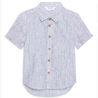 PRIMARK BABY BOY GREY SHIRT