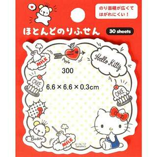 Hello Kitty memo紙