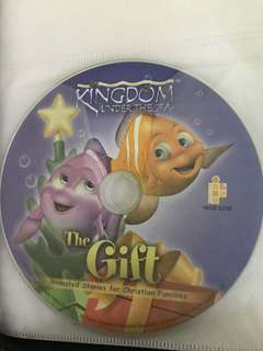 Children's VCD Kingdom Under the Sea - The Gift