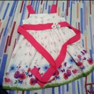 T&F Floral Dress (3T)