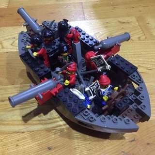 樂高 lego 積木 海盜船