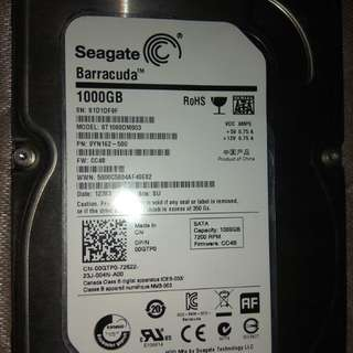 HDD INTERNAL 1TB SATA