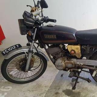 Yamaha RXS parts