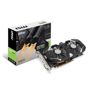 MSI GTX 1060 6gb Afterburner OCV2 Nvidia Geforce GTX1060