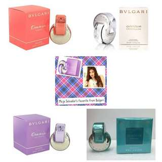 For sale BVLGARI tester perfumes for women!!!