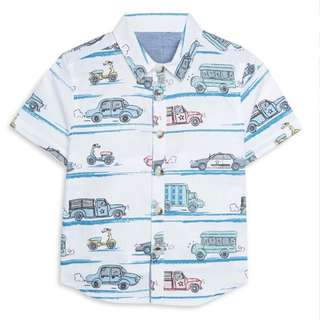 PRIMARK BABY BOY CARS SHIRT