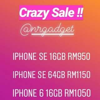 IPHONE CRAZY SALES