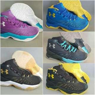 Sepatu basket underarmour