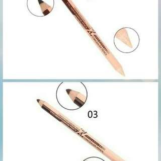 Menow 2in1 eyeliner eyebrow and concealer pen