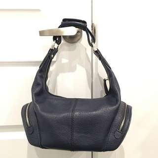 Tods pebbled Leather Hobo Bag