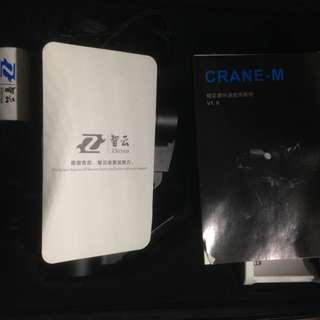 智雲 Zhiyun CRANE-M 雲鶴M智能微單三軸穩定器