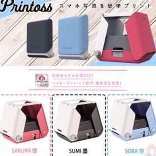 預訂)日本Takara Tomy Printoss 印相機  - HKD300/部、$600兩部