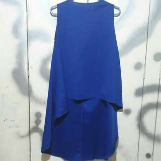 Longback blouse dress
