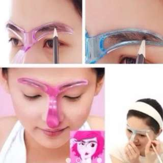 Eyeliner Applicator Guide Card Assistant Makeup Tool
