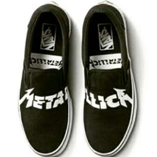 Vans Slip On Metallica