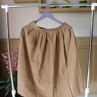 Stradivarius Brown skirt