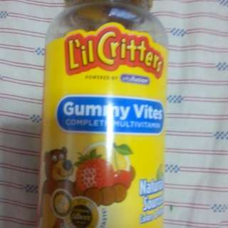 GUMMY VITES-MULTIVITAMINS-LIL CRITTERS