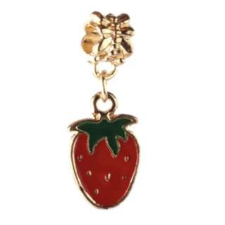 Strawberry Gold Charm