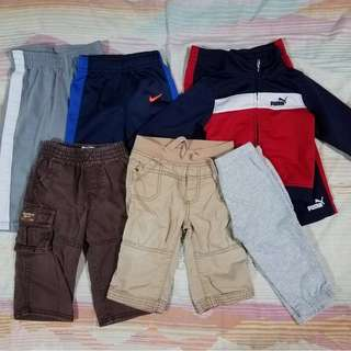 Baby Boy Assorted Pants 12M