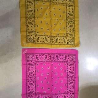 Bandana scarfs