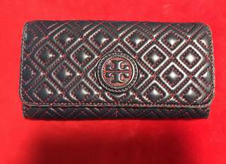 🈹Tory Burch Leather Wallet  100% Real 90%New👍