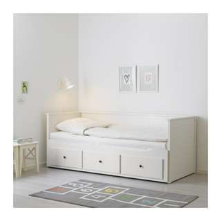 Hemnes Daybed 4in1 - White