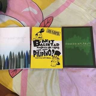 Bob Ong Book Set