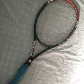 Wilson pro staff hyper carbon tennis racket